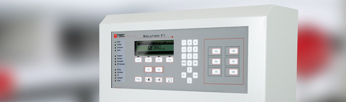 Centrale antincendio analogica Solution F1
